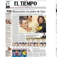 El dolor del conflicto armado en Colombia, desde portadas de EL TIEMPO
