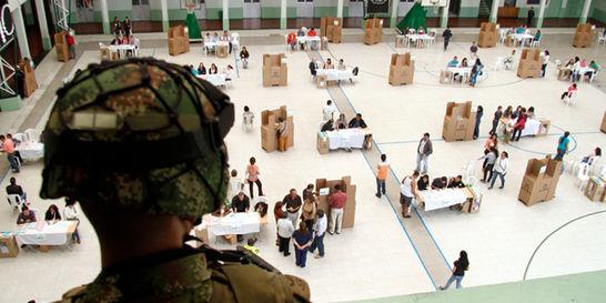Colombia llega a las urnas en tranquilidad