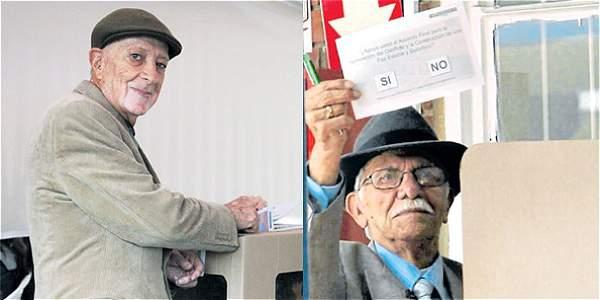 Votantes del primer plebiscito volvieron a las urnas para refrendar los acuerdos de paz