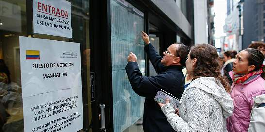En el exterior, mayoría de colombianos apoyaron el 'Sí' en plebiscito