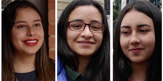 En video: tres jóvenes cuyo primer voto fue por el 'sí' al plebiscito