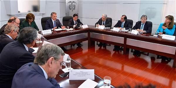 Pronunciamiento Juan Manuel Santos