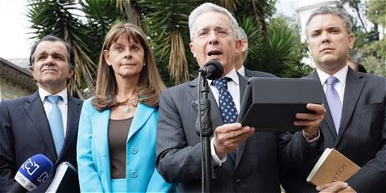 El Presidente 'expresó voluntad' para modificar los acuerdos: Uribe