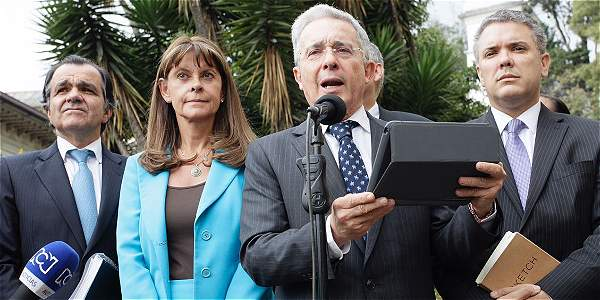 Pronunciamiento Álvaro Uribe