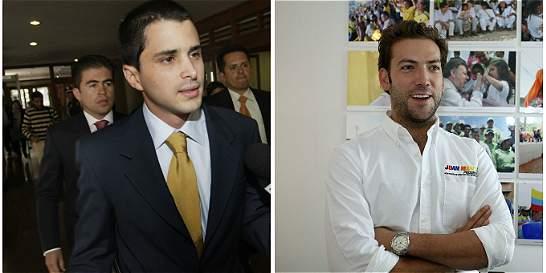 Hijos de Santos y Uribe 'cuadran' tinto por Twitter para hablar de paz
