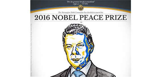 Reacciones en redes sociales por el Nobel para el presidente Santos