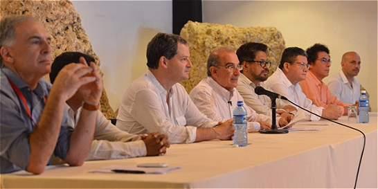 Delegaciones acuerdan protocolo para cese del fuego