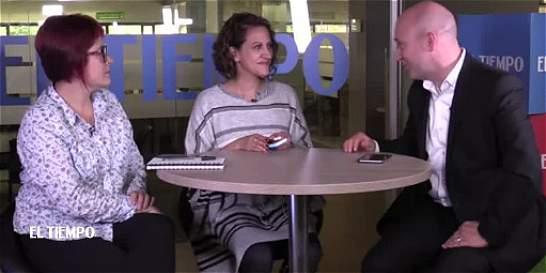 Jineth Bedoya explica lo que significa el Nobel que le dieron a Santos