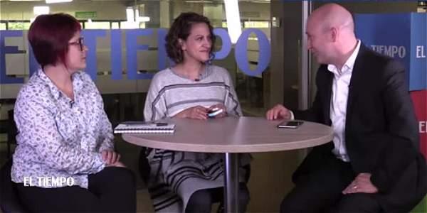 Jineth Bedoya, nominada al Nobel de Paz, explica lo que significa el premio que le otorgaron a Santos