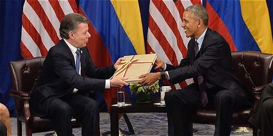 Barack Obama llamó al Presidente para felicitarlo por el premio Nobel
