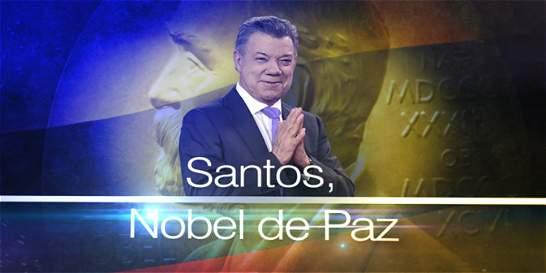 No se pierda el especial de EL TIEMPO TV y Citytv sobre Nobel de Paz