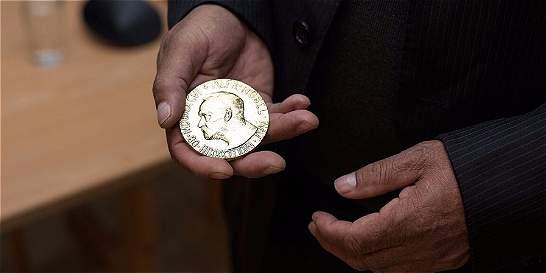 Una medalla hecha con oro 'ético'