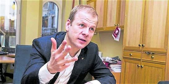 Legislador noruego, el autor de la postulación de Santos al Nobel