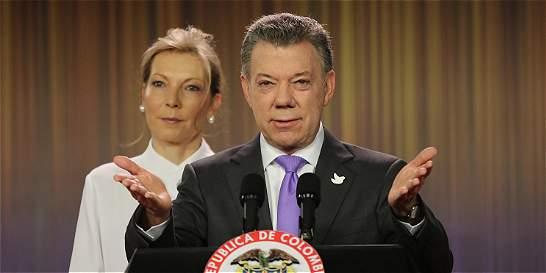 Nobel a Santos por sus esfuerzos para poner fin a la guerra