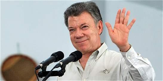'Yo no voy a traicionar la esperanza de Colombia': Santos