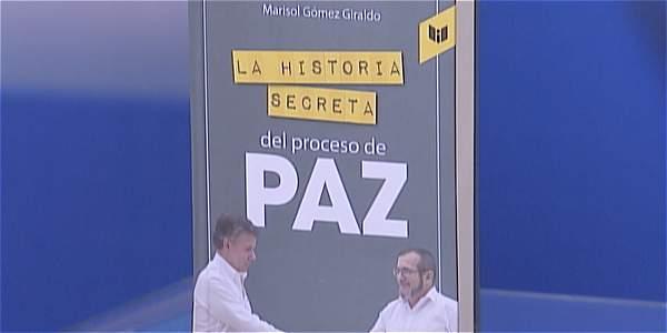 Marisol Gómez presenta libro con detalles inéditos del proceso de paz