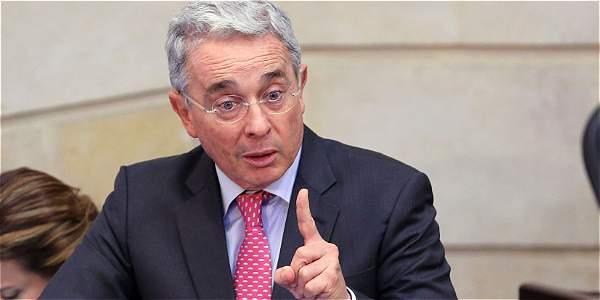 El expresidente Álvaro Uribe dijo que en
