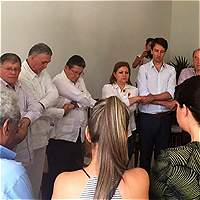 Familiares de diputados del Valle vuelven a La Habana