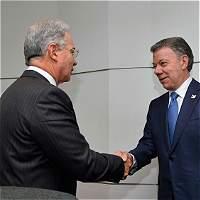 Uribe no irá a cita con Santos este jueves en Palacio