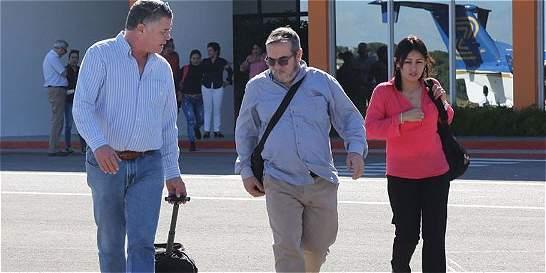 Jefes de las Farc llegan a Bogotá