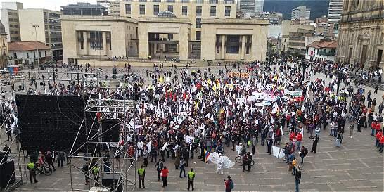 Fotos: celebraciones en el país por la firma del nuevo acuerdo de paz