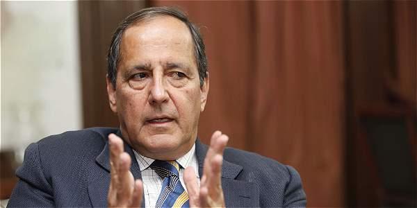Juan Camilo Restrepo, jefe negociador del Gobierno en los diálogos con el Eln.