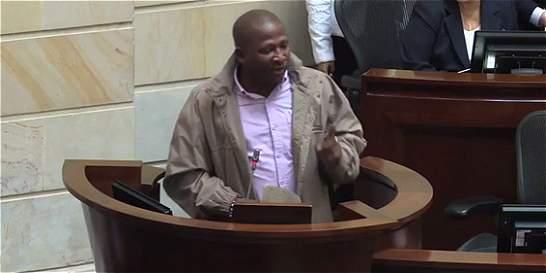 La conmovedora intervención de una víctima de Bojayá en el Senado