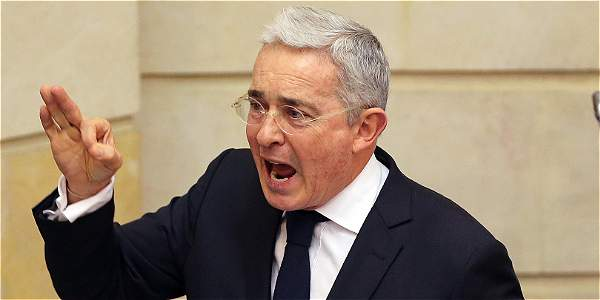El expresidente Álvaro Uribe.