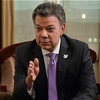 'Hoy solo los del 'nunca' se oponen al acuerdo de paz': Santos