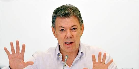 Proceso de desarme en Colombia es 'irreversible': Santos