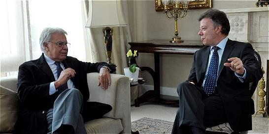 'El Presidente que negoció y firmó la paz'