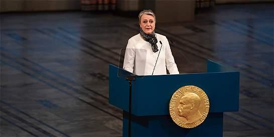 'El premio se debe entender como un tributo al pueblo colombiano'