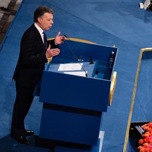 El Nobel, 'un milagro del cielo', que dio fuerza a un nuevo  acuerdo