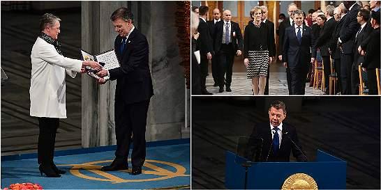Los momentos más destacados en redes de la ceremonia del Nobel