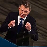 Texto del histórico discurso de Santos al aceptar el Nobel de Paz