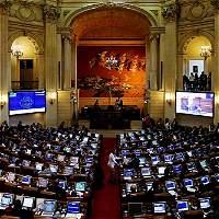 Maratón por la paz en el Congreso