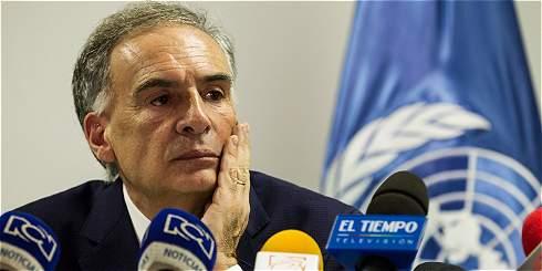 ONU propone ajustar calendario para entrega de armas de las Farc