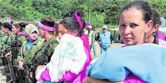 Grupo de mamás impulsan campaña para apoyar a hijos de desmovilizadas
