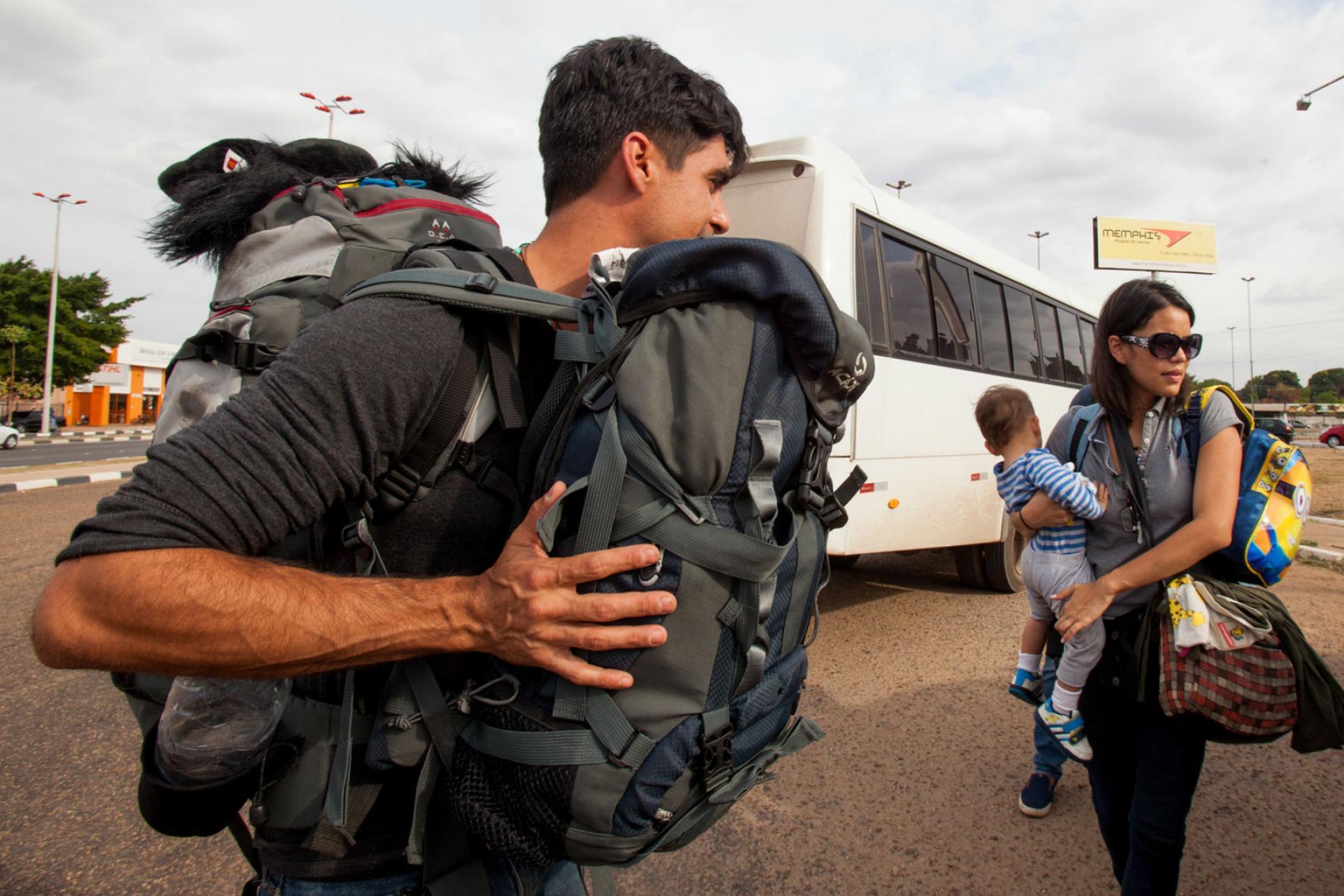 455863b69d Cómo es la ruta de los venezolanos para ir hasta Argentina - Datos ...