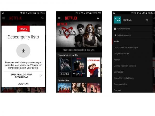 Cómo usar Netflix offline