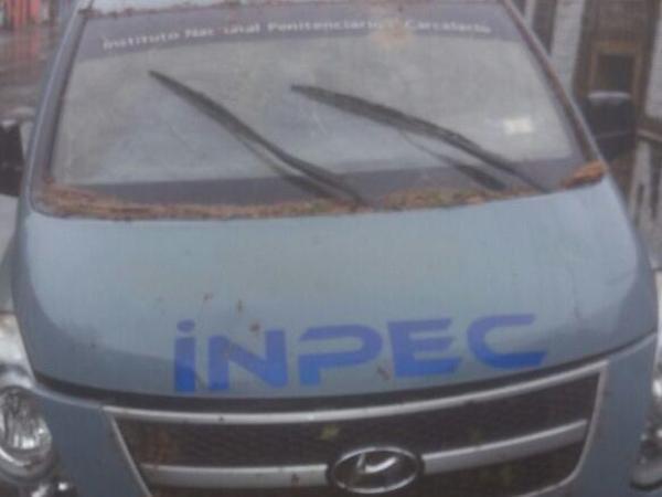 Atacaron con ráfagas de fusil una caravana del Inpec en Antioquia