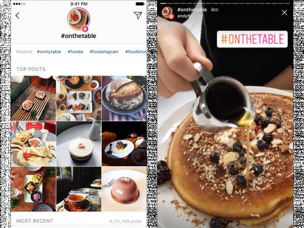 Instagram agrega 'Stories' para lugares y etiquetas
