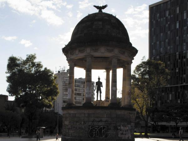 El templete al Libertador