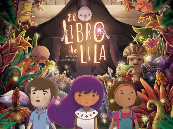 Cartel El libro de Lila