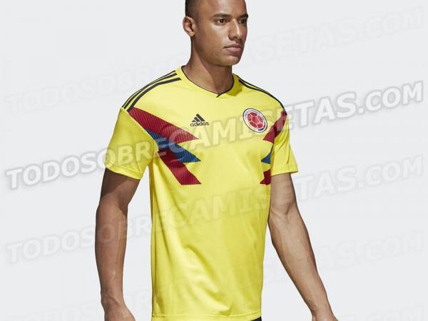 Uniforme titular de Colombia fue elegido el mejor del Mundial Rusia ... 64adecb24c511