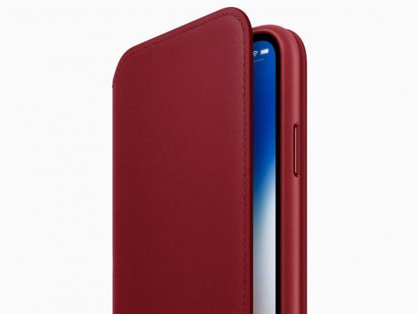Forro rojo iPhone X