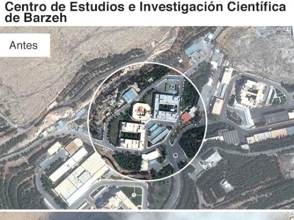 BBC Mundo: Lugar bombardeado