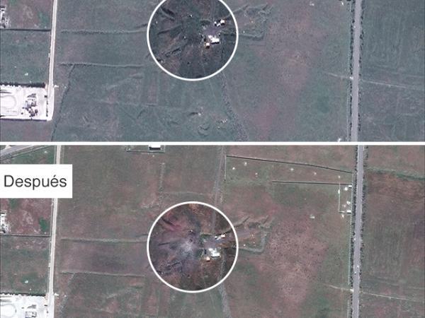 BBC Mundo: Lugar bombardeado 3