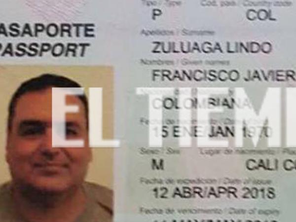 Pasaporte de 'Gordo Lindo'