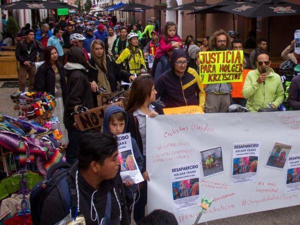 BBC Mundo: Una marcha en San Cristóbal